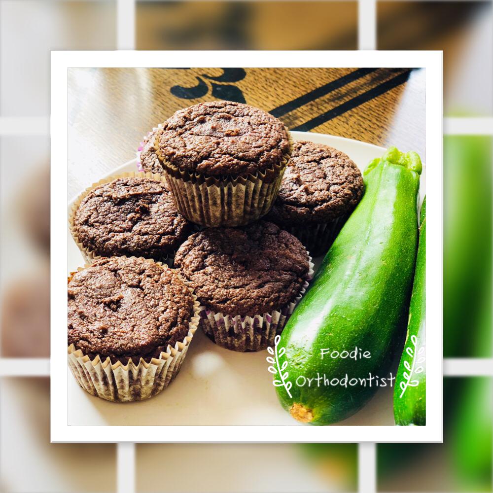 Chocolate Zucchini Muffins Gf Lc Heart Orthodontics Dr Yang Li